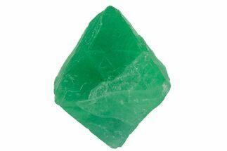 "Buy 1.4"" Green Banded Fluorite Octahedron - China - #164596"