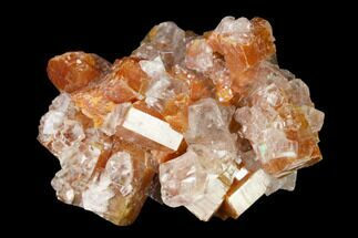 Vanadinite & Calcite - Fossils For Sale - #165309