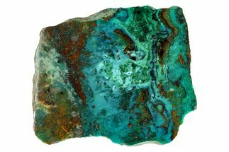 "Buy 2.05"" Polished Chrysocolla and Malachite - Bagdad Mine, Arizona - #167422"