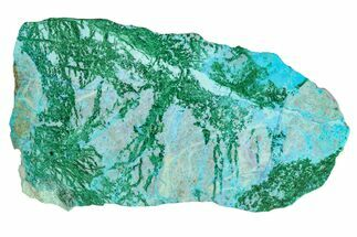"Buy 4.1"" Polished Blue River Chrysocolla Slice - Arizona - #167578"