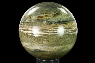 "Buy 6.1"" Flashy, Chatoyant, Pietersite Sphere - Arizona - #167626"