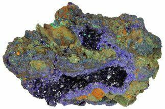 Azurite & Malachite - Fossils For Sale - #170025