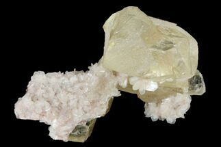 Calcite & Stilbite - Fossils For Sale - #169029