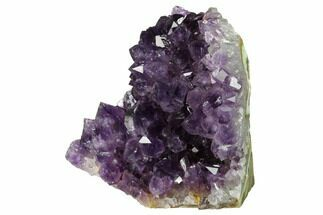 "4.5"" Free-Standing, Amethyst Geode Section - Large Crystals For Sale, #171956"