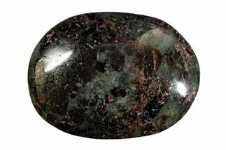 "2.35"" Polished Garnetite (Garnet) Pebble - Madagascar For Sale, #171752"