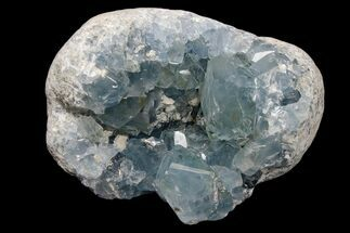 "3.3"" Sky Blue Celestine (Celestite) Crystal Cluster - Madagascar For Sale, #173138"