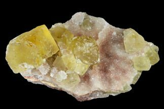 Fluorite & Quartz - Fossils For Sale - #173961