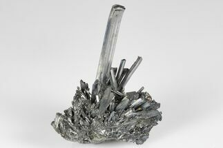 "2.3"" Lustrous, Metallic Stibnite Crystal Spray - China For Sale, #175838"