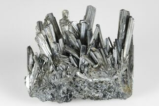 "Buy 2.1"" Lustrous, Metallic Stibnite Crystal Spray - China - #175885"