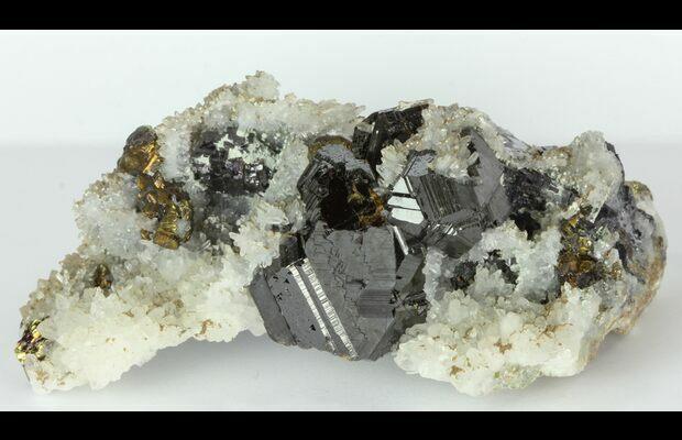 Amazing Quartz Sphalerite Chalcopyrite Madan Bulgaria